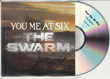 YOU ME AT SIX The Swarm 2012 UK 1-trk promo test CD radio edit