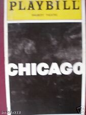 Playbill Chicago Bebe Neuwirth Clarke Peters Marcia Lewis Lewis finger Prints