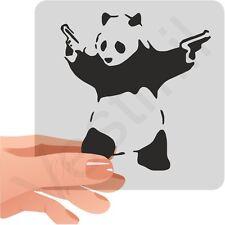 Banksy Bad Panda Car, Laptop, Wall Decal Sticker