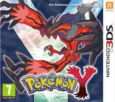 New Pokemon Y Nintendo 3DS UK PAL Sealed Game Free UK 1st Class P&P