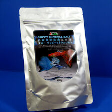 AZOO Guppy Mineral Salt 400g- Hard Water Mollies Swordtails Platys Ph Fish Tank