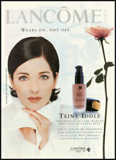1997 vintage ad for Lancome Teint Idole Make up oil