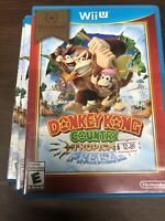 (1) Donkey Kong Country Tropical Freeze Nintendo Wii U 2014 With Case And Manual