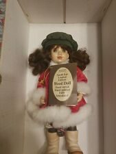 """Anri Sarah Kay """"Victoria"""" Jointed Doll Wood Carved Italy w /Certificate"""