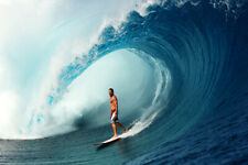 """Andy Irons surfing at Teahupo'o, Tahiti 8x12"""" Photo Print by Pete Frieden"""