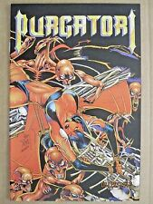1996 CHAOS COMICS PURGATORI: THE VAMPIRES MYTH #2 ALTERNATE JIM BALENT COVER