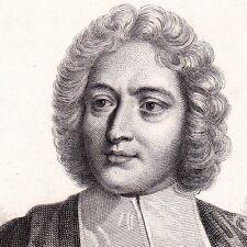 Portrait Abbé Charles-Irénée Castel de Saint-Pierre Saint-Pierre-Église Manche