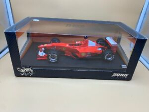 Hot Wheels F1-2000 Model Car 1:18. Unused Original Package Top Zustand