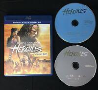 Hercules Blu-ray DVD Digital HD Movie 2 Disc Set 2014 Dwayne Johnson Action