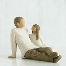 Willow Tree Father and Daughter Sculpted Hand-painted Figure 26031