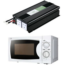 1500W MODIFIED SINE WAVE INVERTER +COMPACT 700W MICROWAVE COMBO CAMPER MOTORHOME