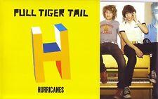 "PULL TIGER TAIL - HURRICANES - 7"" VINYL SINGLE - GATEFOLD COVER - MINT"