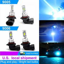 Combo 9005 9006 LED Headlight Bulbs Kit High&Low Beam 35W 8000K