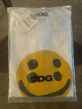 CDG × CACTUS PLANT FLEA MARKET SMILEY FACE T-SHIRT Brand New Limited Sold Out