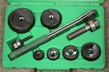 Greenlee Slug Buster Knockout Punch Set 12 Thru 2 Conduit 7238sb