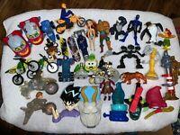Mcdonalds Happy Meal, Burger King, Subway, Sonic Toys Disney Lot Mixed 33 Toys