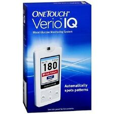 OneTouch Verio IQ Meter * Blood Glucose Monitoring Kit * (Brand New - Sealed)