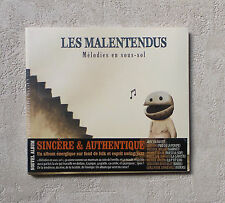 "CD AUDIO / LES MALENTENDUS ""MÉLODIES EN SOUS-SOL"" CD ALBUM DIGIPACK NEUF SCELLE"