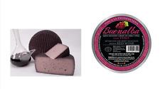 Rotwein-Ziegenkäse -BUENALBA- Handwerkliches Produkt - 1 Kg/Stück