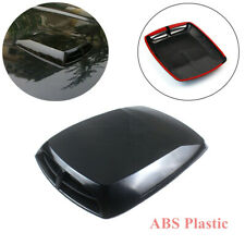1x Universal 3D Car Air Flow Intake Hood Scoop Vent Bonnet Cover Plastic Sticker