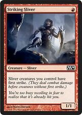 *MRM* ENG 4x Slivoïde frappeur (Striking Sliver) MTG Magic 2010-2015