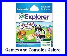 NEW Leap Pad Ultimate Game, LeapPad, Leapster Explorer GS Pet Pals Game