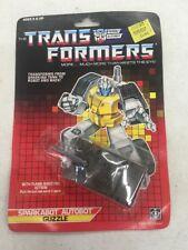 Transformers Vintage G1 Autobot Sparkabot  Guzzle 1987 Sealed Rare Unused Hasbro