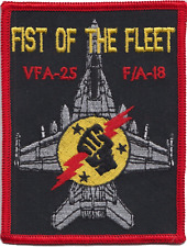 Strike Fighter Squadron 25 VFA-25 United States Navy USN Embroidered Patch