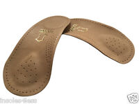 Tacco 676 Nova 3/4 Leather Arch Support w/ Metatarsal Pad Insoles