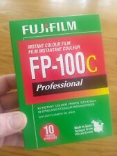 1 PACK Fujifilm FP-100C Instant Color fuji Film COLD STORED EXP 2018-02