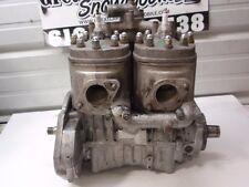 Kawasaki Invader 340 Twin Snowmobile Engine, Nice, No Core Required! Liquifire