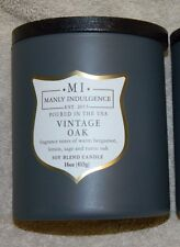 MANLY INDULGENCE Vintage Oak Soy Blend Candle 16 oz