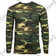 Army Cotton Long Sleeve T-Shirts for Men