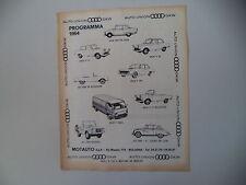 advertising Pubblicità 1963 AUTO UNION AU DKW F 11/800/F 12/102/F 1000/MUNGA