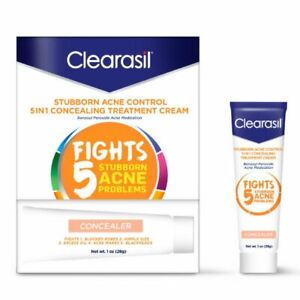 Clearasil StayClear Concealer Tinted Acne Treatment Cream 1 Ounce