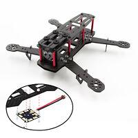 Schwarz 250mm Quadrocopter Rahmen Quadcopter Drohne RC Carbon Fiber Frame QAV250