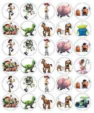 Toy Story Cupcake TOPPERS PAPIER DE GAUFRETTE comestibles anniversaires acheter 2 obtenez 3e gratuitement!