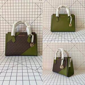 Michael Kors Hope Medium Messenger Crossbody Signature MK Bag Handbag
