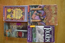 Lot 4 Fantasy Books Harry Potter Redwall Merlin Lord of Rings Summer School Good