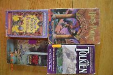 Lot 4 Fantasy Books Harry Potter Redwall Merlin Lord of Rings Summer School Good