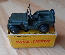 French Dinky Military Hotchkiss Willy Jeep  #80B, VNM and Boxed-RARE
