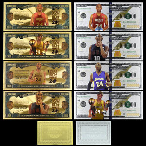 Kobe Bryant Nba Collector's Edition Commemorative Banknotes Holiday Gift