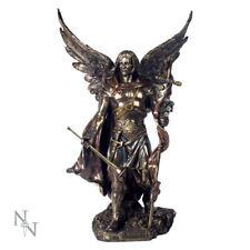 Nemesis Now Gabriel With Staff Bronze Archangel Mythological Angel Figurine