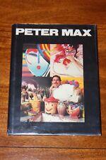 PETER MAX ~ L.D. BLACK ~ 1989 FIRST ED ~ HANSON GALLERIES ~ PROFUSELY ILLUS HC
