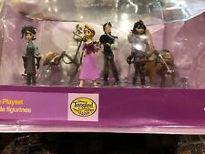 Disney Tangled: The Series Rapunzel 6 piece Toy Figure Figurine Play Set - New