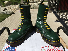 90's vintage Dr. Martens 10-eye Green US 5 boots doc shoe airwair 1490 1460 uk3