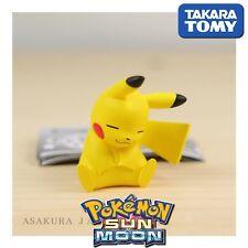 GASHAPON Takara Tomy Pokemon Sun & Moon Oyasumi Friends Night Sleep PIKACHU.