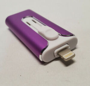 256GB Flash Drive for Phone PC Photo Video Memory Stick-USB/Lightning/Micro USB