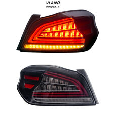 LED Tail Lights For Subaru WRX & Subaru WRX STI 2015-2019 Sequential Indicator