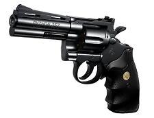 """Colt Python 357 Magnum 4inch"" black model Tokyo Marui AIR HOP hand gun Japan"